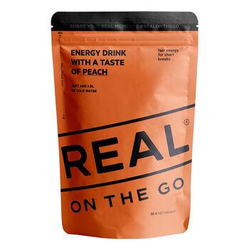 REAL turmat OTG Energy drink fersken Oransje