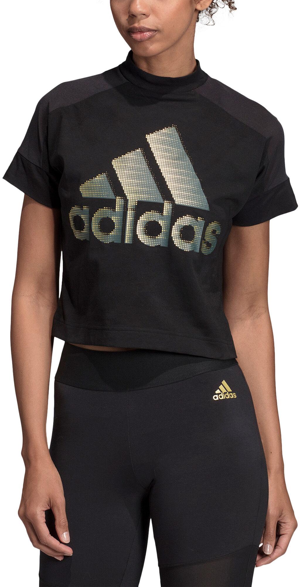 Adidas Essentials Linear Slim Tee Fritid & Bomull | Sport