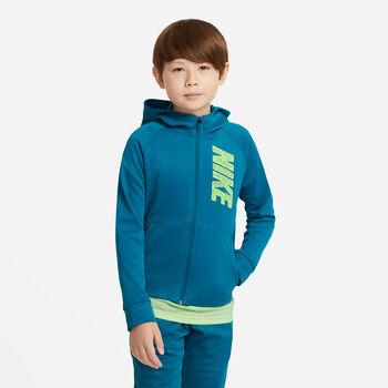 Nike Therma hettejakke junior Gutt Blå
