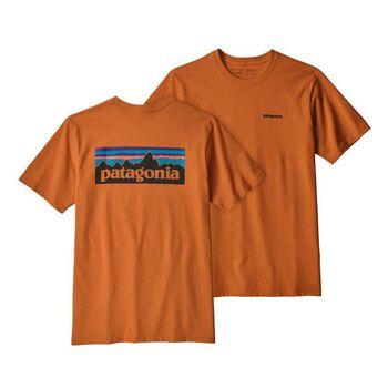 Patagonia P-6 Logo Responsibility t-skjorte herre Brun