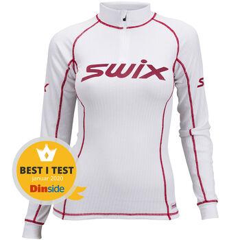 Swix RaceX Halfzip treningsgenser dame Rød