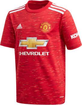 adidas Manchester United 20/21 hjemmetrøye junior Gutt Rød