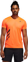 Run It 3-Stripes teknisk t-skjorte herre