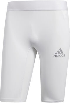 adidas Alphaskin kort tights herre Hvit