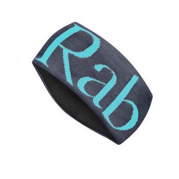 Rab Knitted Logo Headband pannebånd Herre Blå