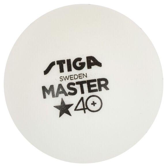 Master bordtennisballer 6-pk