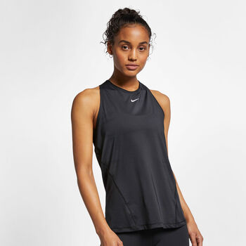 Nike Pro All Over Mesh singlet dame Svart