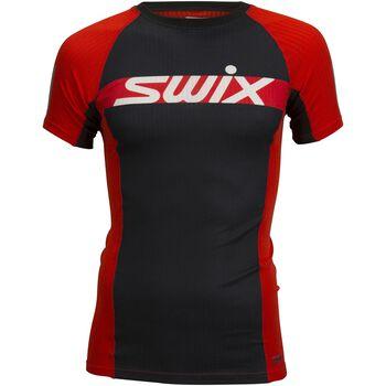 Swix RaceX Carbon SS teknisk t-skjorte Herre Rød