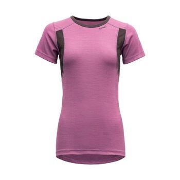 Devold Hiking ull t-skjorte dame Lilla