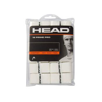 Head Prime Pro Pack (overgrip) tennis griptape Hvit