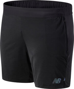New Balance Q Speed Fuel 5 Inch teknisk shorts herre Svart