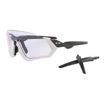 Oakley Flight Jacket Prizm™ Lowlight - Grey Carbon sportsbriller Herre Flerfarvet