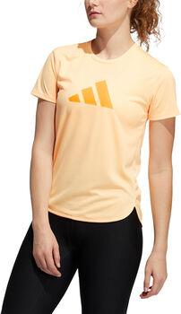adidas Badge of Sport t-skjorte dame Gul