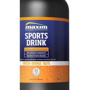 MAXIM Sports Drink 2 kg Orange energidrikk Blå