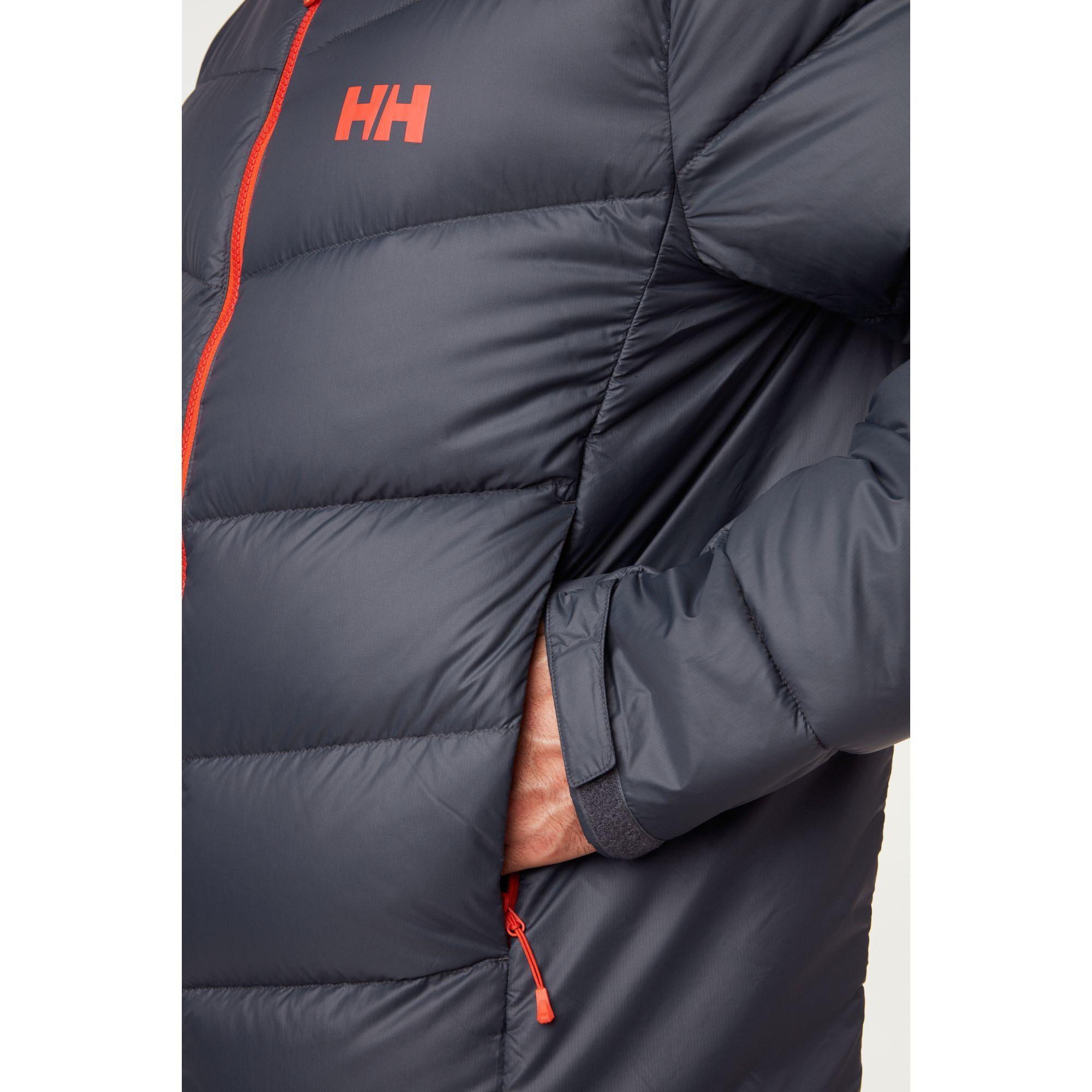 Helly Hansen Verglas Icefall Dunjakke Herre, Grå