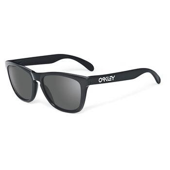Oakley Frogskins Grey - Polished Black solbriller Svart