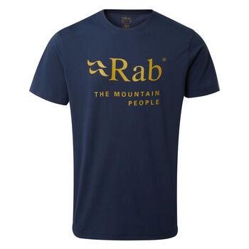 Rab Stance Mountain t-skjorte herre Blå
