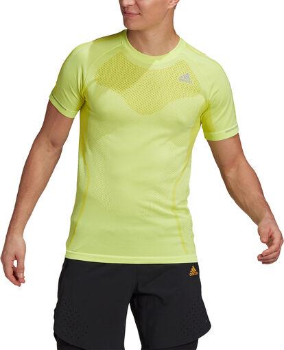 Primeknit teknisk t-skjorte herre
