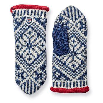 Hestra Nordic Wool vott dame Herre Blå