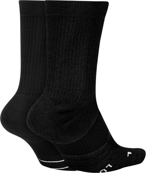 Multiplier Crew sokker 2-pack