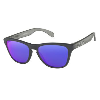 Oakley Frogskins XS Red Iridium - Matte Carbon solbriller junior Flerfarvet