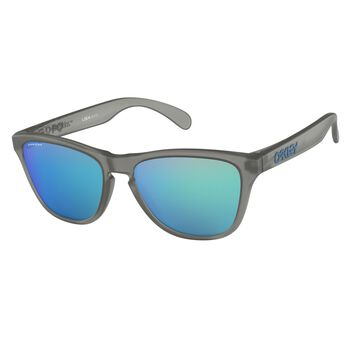 Oakley Frogskins XS Prizm™ Sapphire - Matte Grey Ink Herre Grå