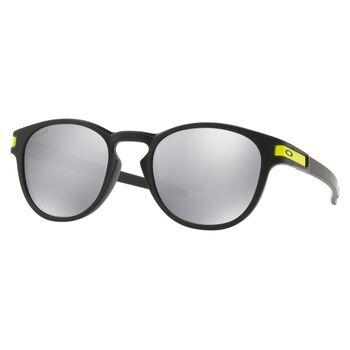 Oakley Latch VR/46 Chrome Iridium - Matte Black solbriller Herre Svart