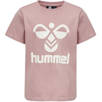 Hummel Tres S/S t-skjorte barn/junior Rosa