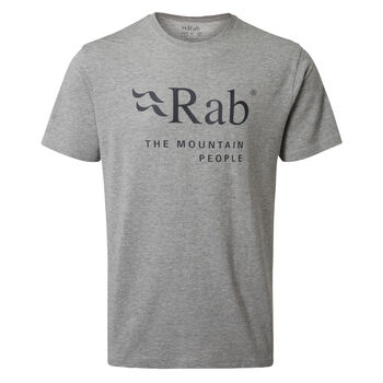 Rab Stance Mountain t-skjorte herre Grå