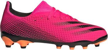 adidas X Ghosted.3 fotballsko kunstgress/gress junior Rosa
