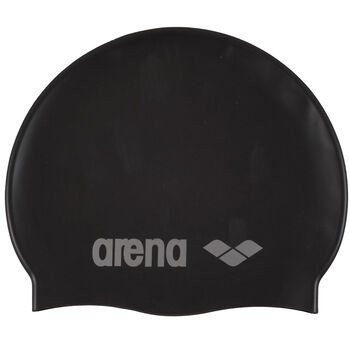 Arena Classic Silicone badehette junior Svart