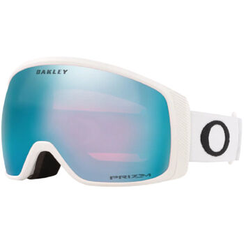 Oakley Flight Tracker XL White, Prizm Snow Sapphire Iridium alpinbriller Herre Grå