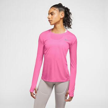 Nike Miler treningsgenser dame Rosa