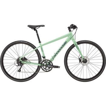 Cannondale Quick Disc 3 hybridsykkel dame Grønn