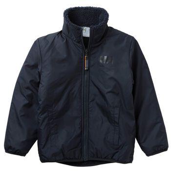 Helly Hansen K Reversible Pile Jacket vattert jakke barn Svart