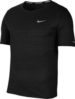 Nike Dri-FIT Miler teknisk T-skjorte herre Svart