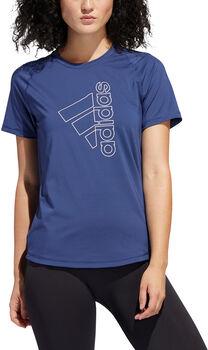 adidas Badge of Sport teknisk t-skjorte dame Blå