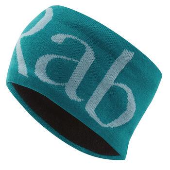 Rab Knitted Logo pannebånd Herre Turkis