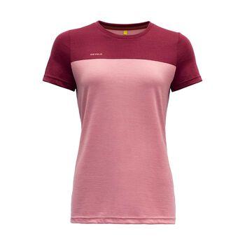 Devold Norang ull-t-skjorte dame Rosa