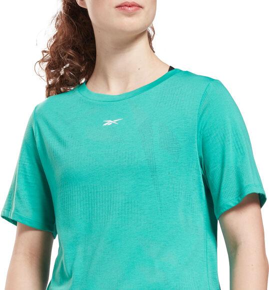 Burnout teknisk t-skjorte dame