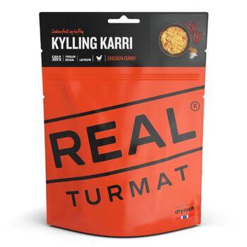REAL turmat Kylling Karri 500 gram Rød
