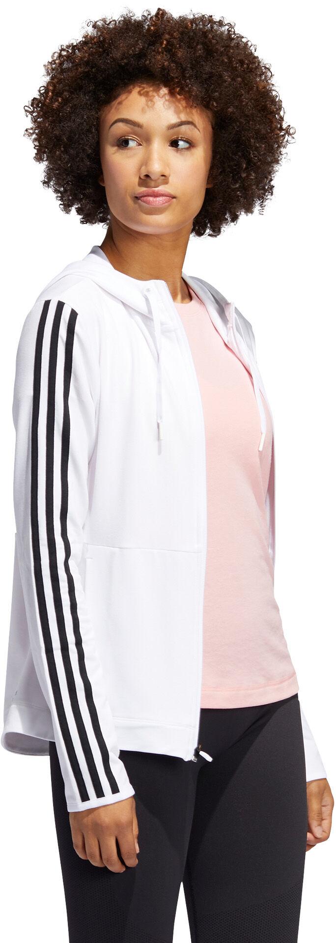 adidas · 3 Stripes hettegenser dame
