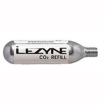 Lezyne CO2 Patron 16 gram 5-pk Hvit