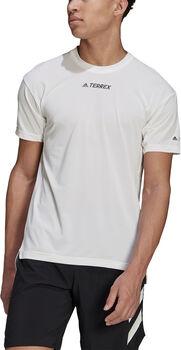 adidas Terrex Parley Agravic Trail Running t-skjorte herre Hvit