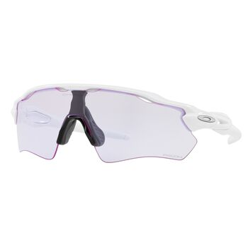 Oakley Radar EV Path Prizm™ Lowlight - Polished White sportsbriller Herre Hvit