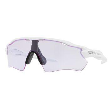 Oakley Radar EV Path Prizm™ Lowlight - Polished White sportsbriller Herre Hvit