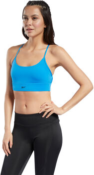 Reebok Wor New Tri BackBra- Pad sports BH Dame Hvit