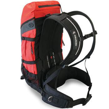 Fjellpulken Xpack 25 L ryggsekk med pulksele Rød