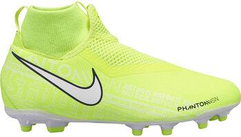 Nike Phantom VSN Academy DF fotballsko gress/kunstgress junior Gutt Gul
