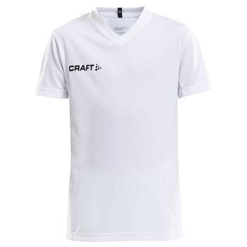 Craft Squad Jersey Solid teknisk t-skjorte junior Hvit